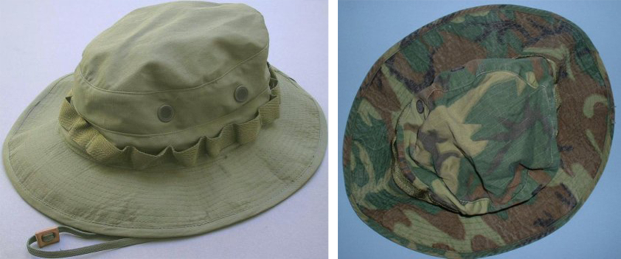 US Military Vietnam issued boonie hats.