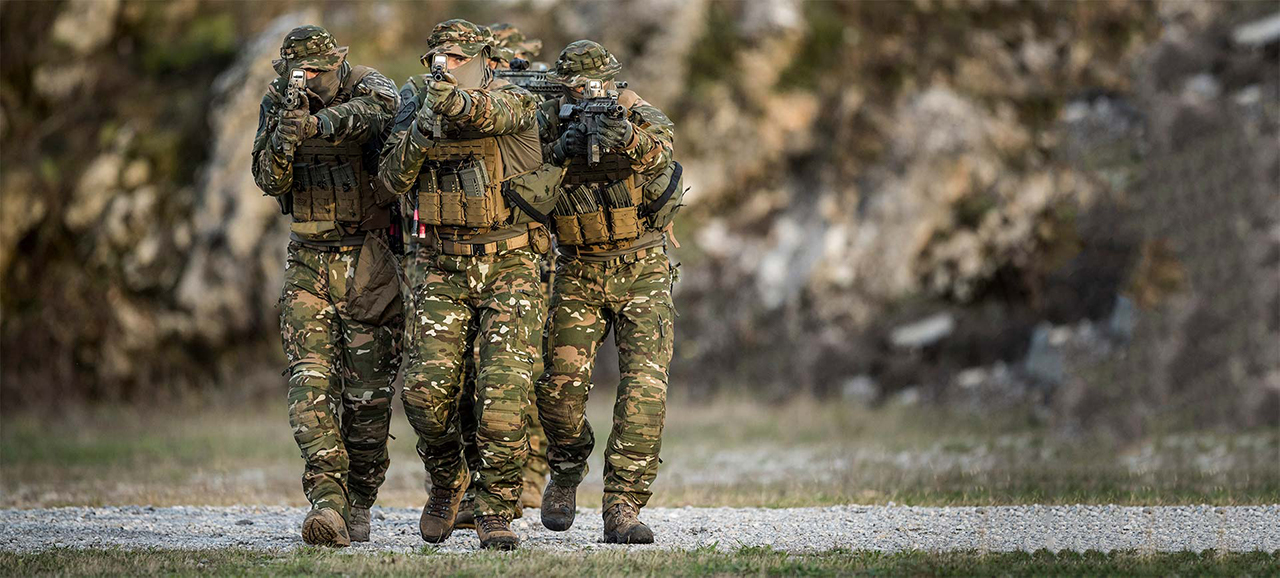 Tactical Combat Casualty Care - Care Under Fire phase