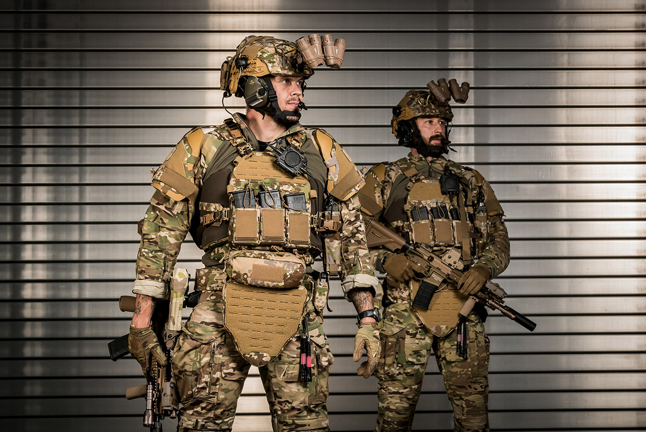 Future of tactical clothing.