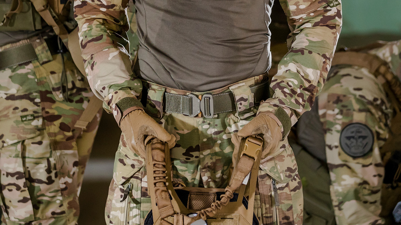 Tactical belts enable you to deal with the weight of your gear more easily.