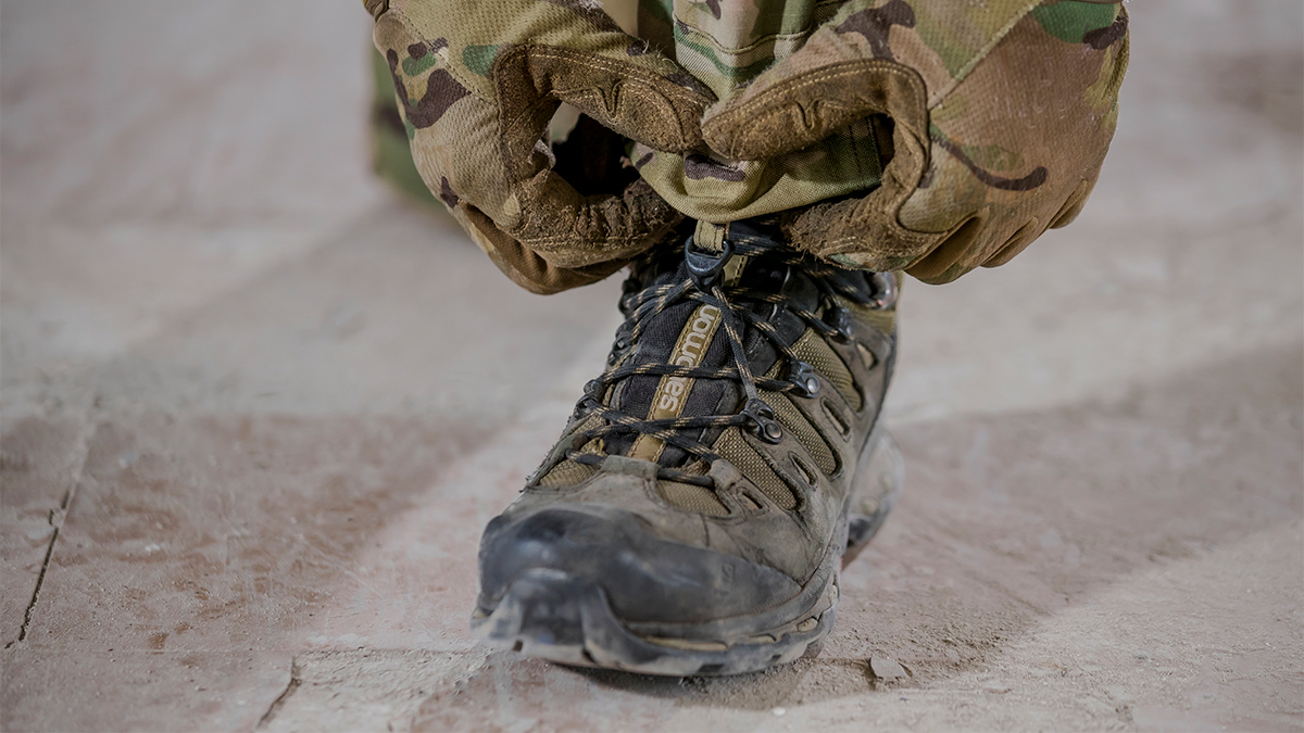 Boots are an essential part of operators tactical gear.