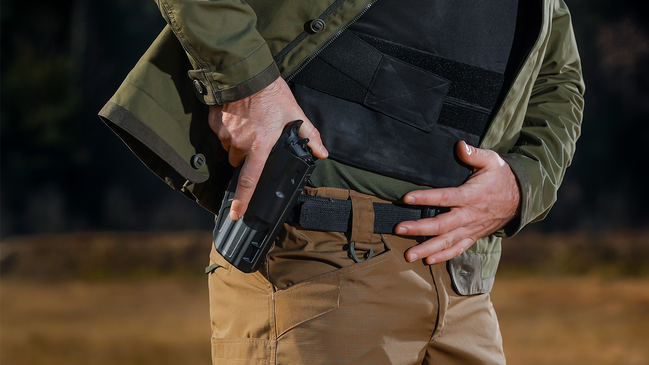 Holsters allow easy access to your firearm.
