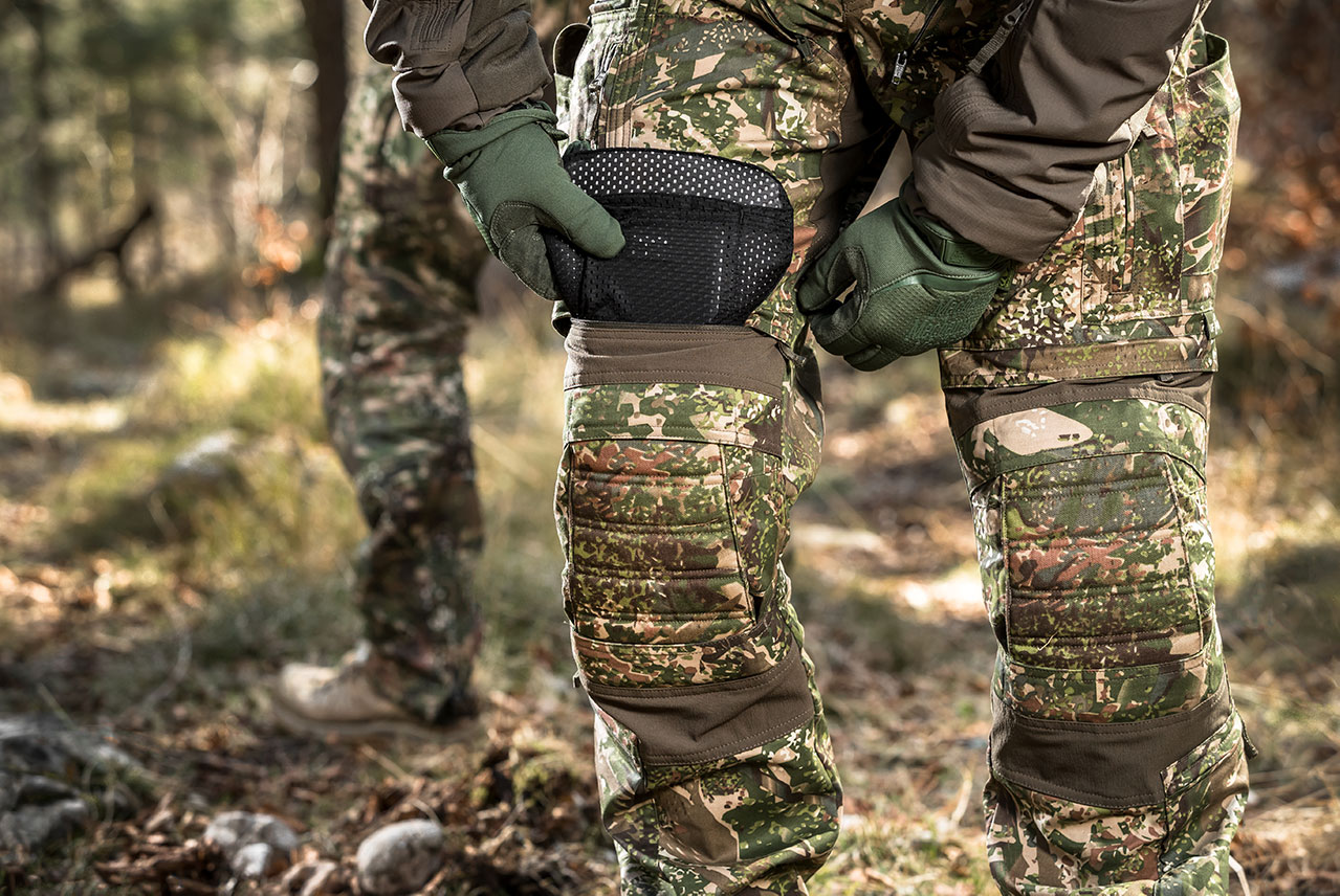 Knee protection is extremely important in tactical pants.