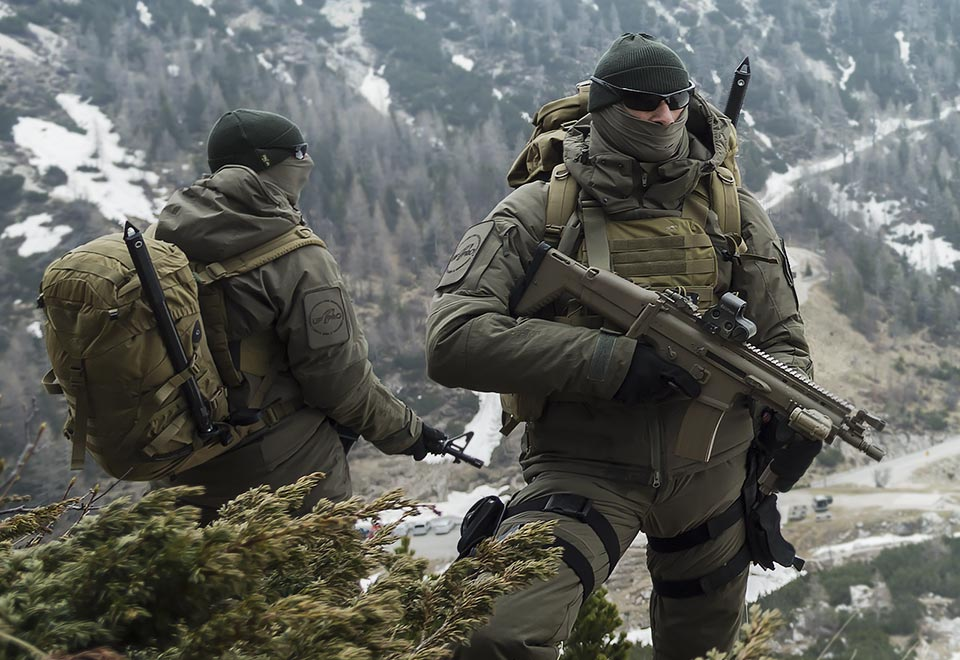 TACTICAL WINTER JACKETS